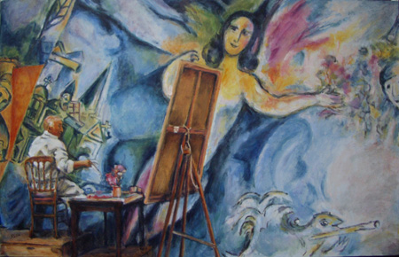 a biography of marc chagall and an analysis of his paintings a russian french artist Russian painter and artist russian painter marc chagall was one of the great masters of  marc chagall: a biography  chagall, marc (1887–1985) russian-french .